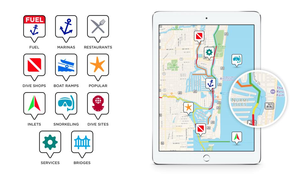 knowwake boat navigation app