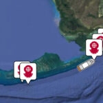 florida keys wrecks map